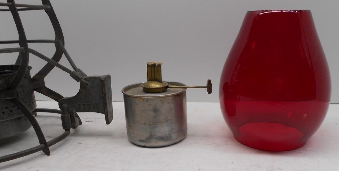 Schenectady Railway Company Adlake Lantern - 3