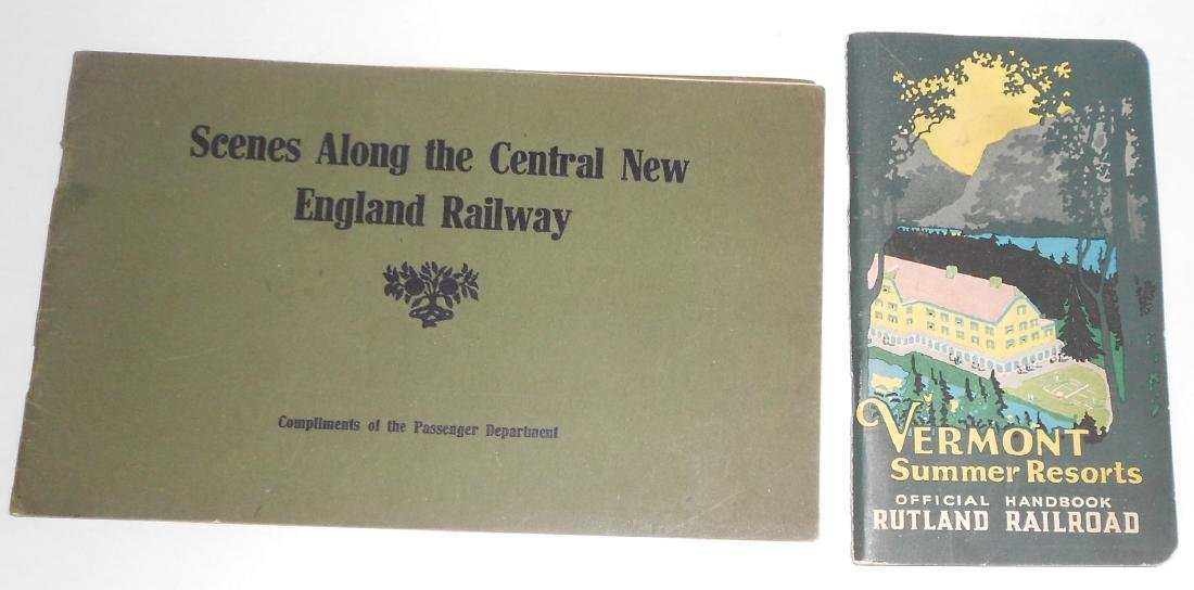 "New England Travel Booklets"" CNE, Rutland"