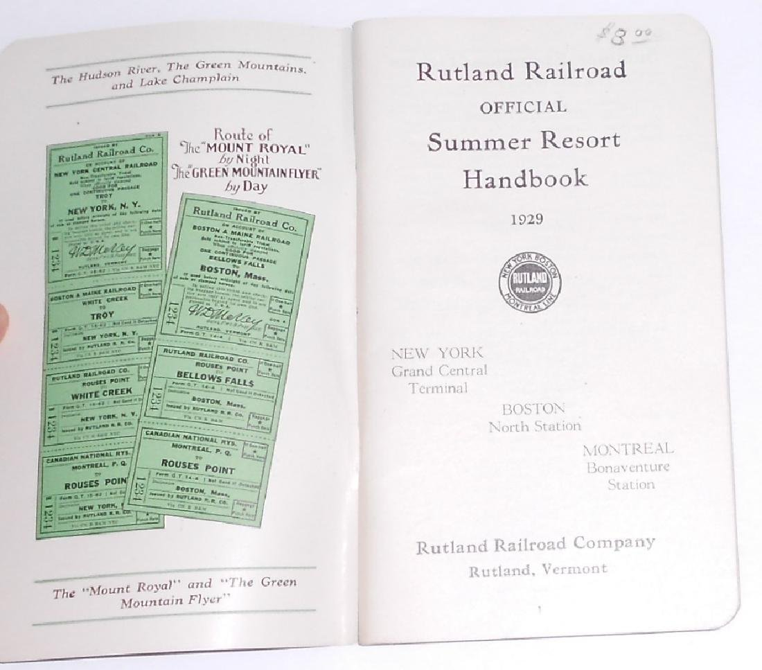 "New England Travel Booklets"" CNE, Rutland - 4"