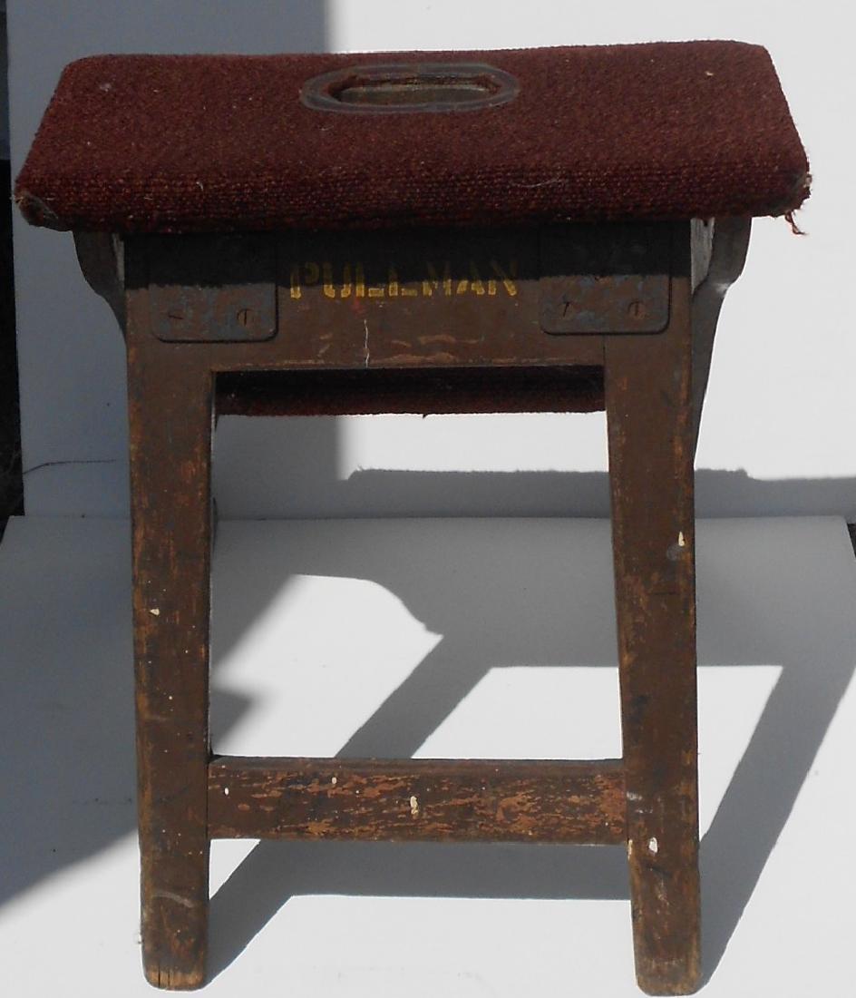 Pullman Company Wooden Berth Ladder