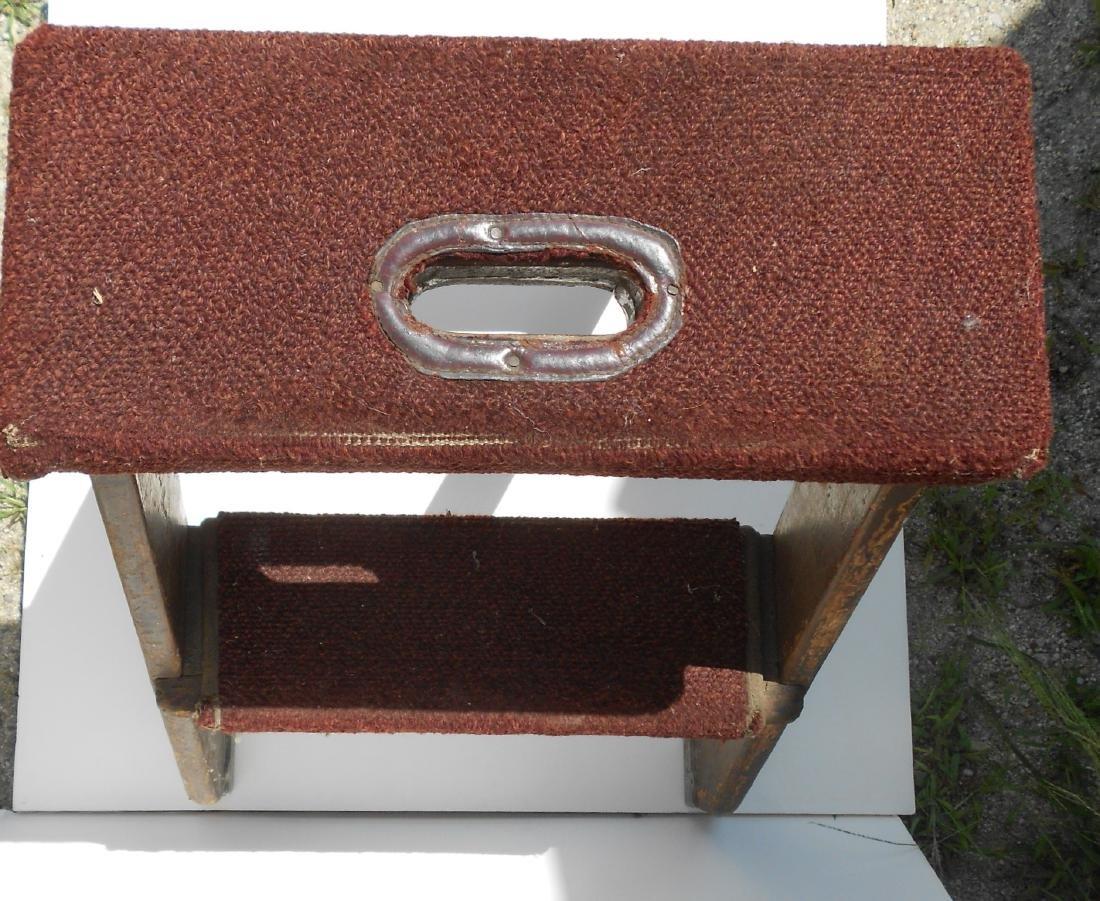 Pullman Company Wooden Berth Ladder - 4