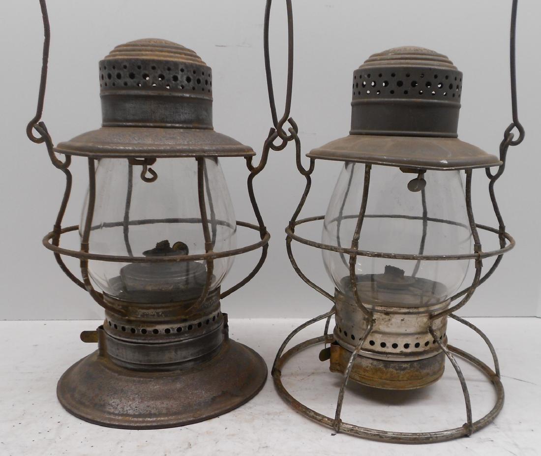 2 Steam Gauge Lamp & Lantern Lanterns