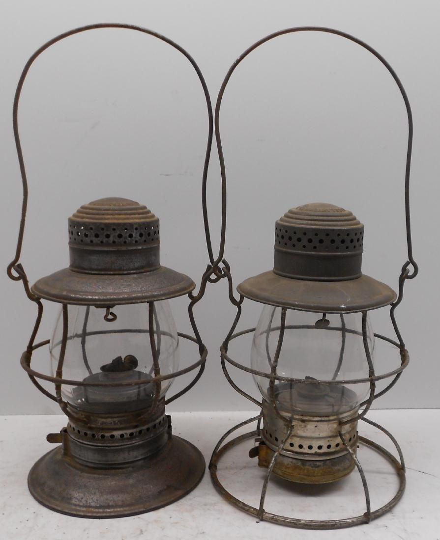 2 Steam Gauge Lamp & Lantern Lanterns - 2