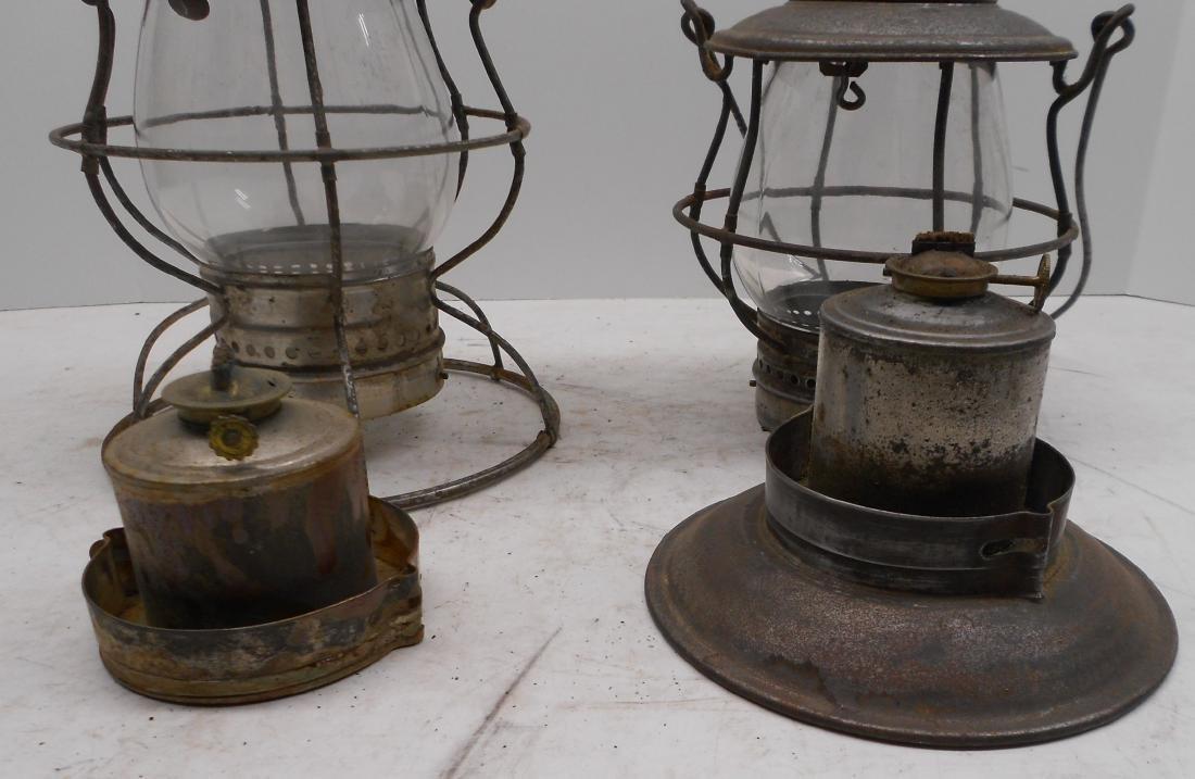 2 Steam Gauge Lamp & Lantern Lanterns - 4