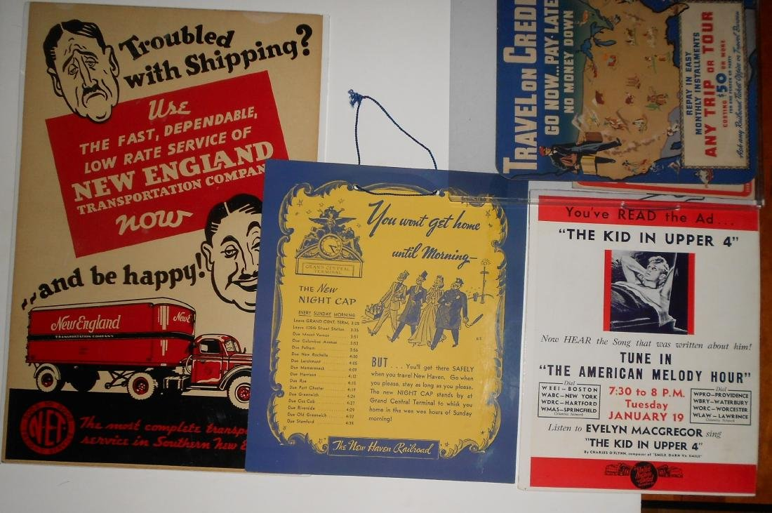 New Haven Railroad Smaller Posters (4)