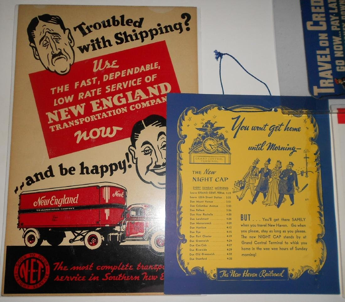 New Haven Railroad Smaller Posters (4) - 2