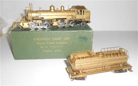HO Brass NWSL Toby Kosmos Lumber 2-8-8-2 Mallet