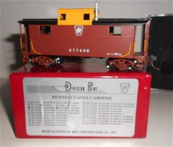 HO Brass Division Point Pennsylvania Cabin Car f/p