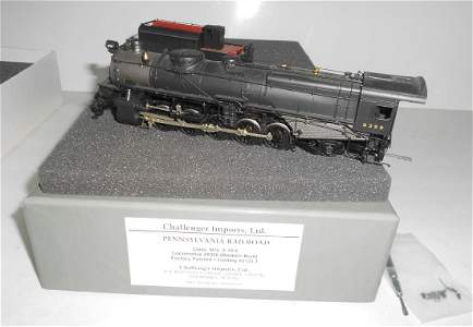 HO Brass Pennsylvania N1s CIL 2-10-2 Baldwin 2131.1