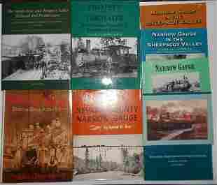 8 Narrow Gauge Railroad Books