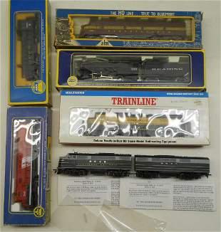 HO Locomotives (7) Stewart, AHM