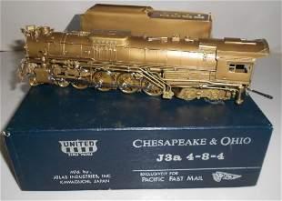 HO Brass PFM Chesapeake & Ohio Greenbrier 4-8-4