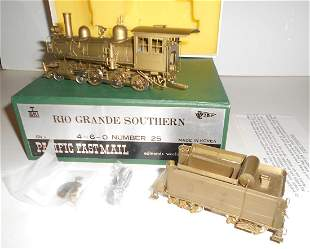 Sn3 Brass Rio Grande Southern 4-6-0