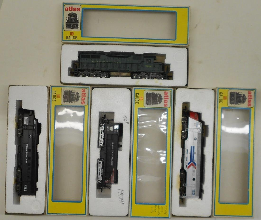 Atlas HO Diesel Locomotives (4) older