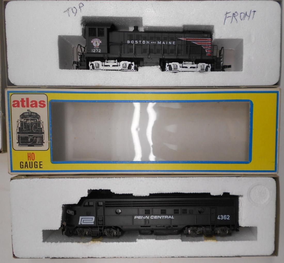 Atlas HO Diesel Locomotives (4) older - 2