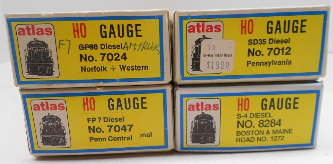 Atlas HO Diesel Locomotives (4) older - 4