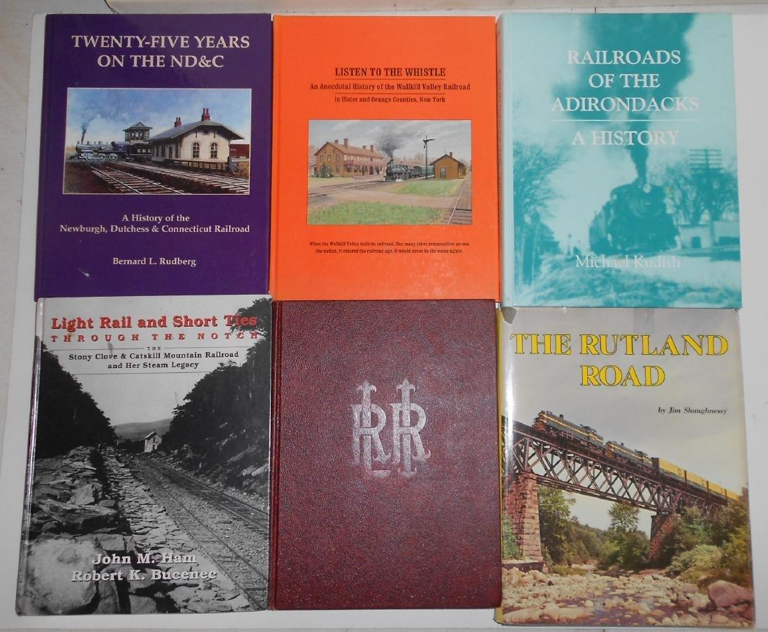New York State Railroad Books (6)