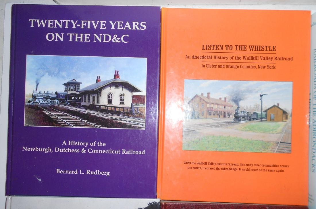 New York State Railroad Books (6) - 2