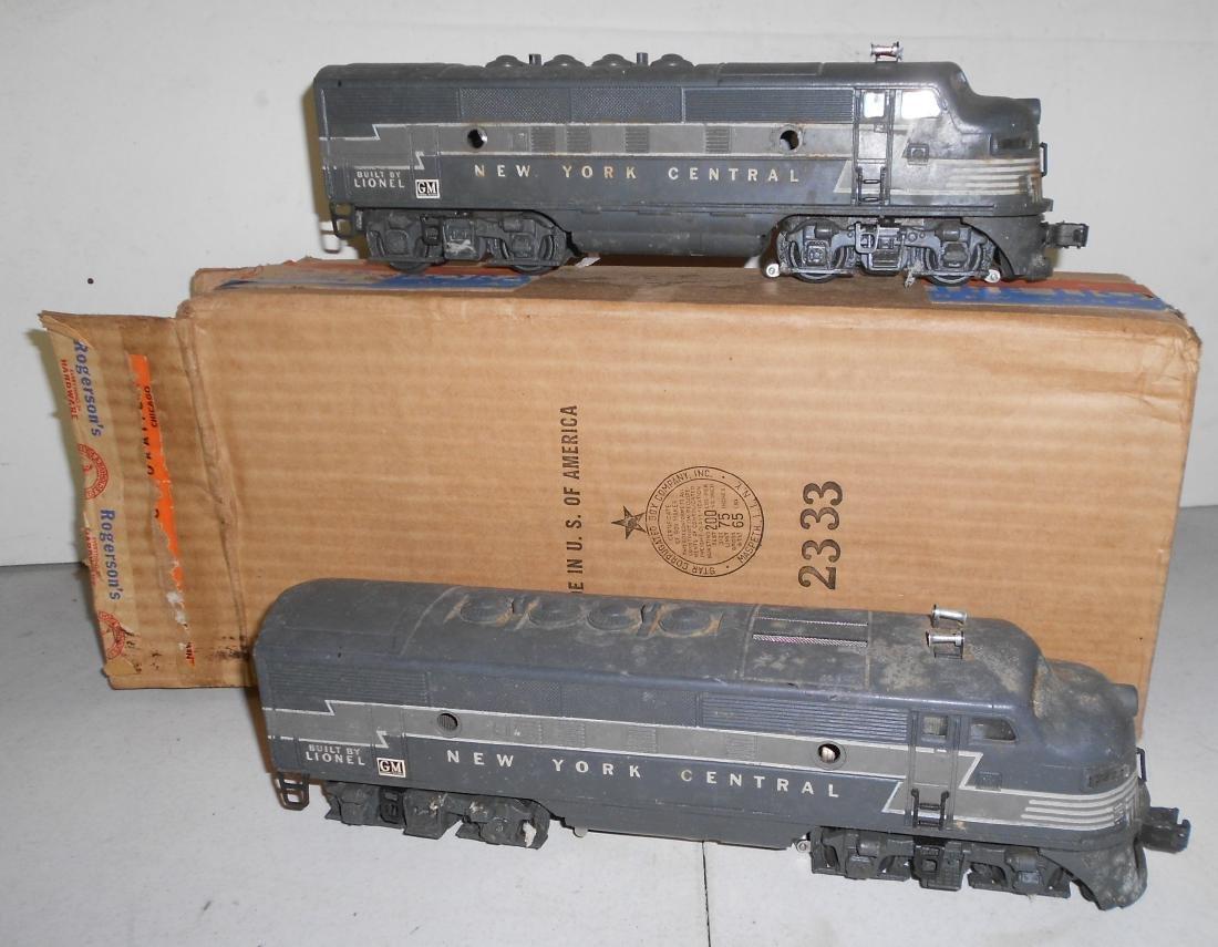 Lionel 2333-20 NYC Diesel Set