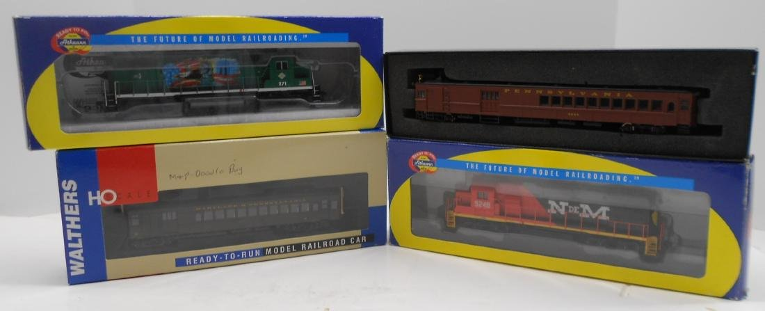 HO Athearn, Bachmann & Walthers Powered Units (4)