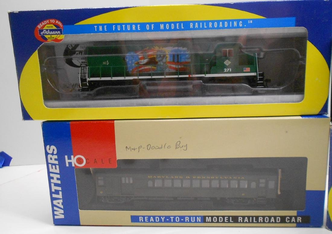 HO Athearn, Bachmann & Walthers Powered Units (4) - 2