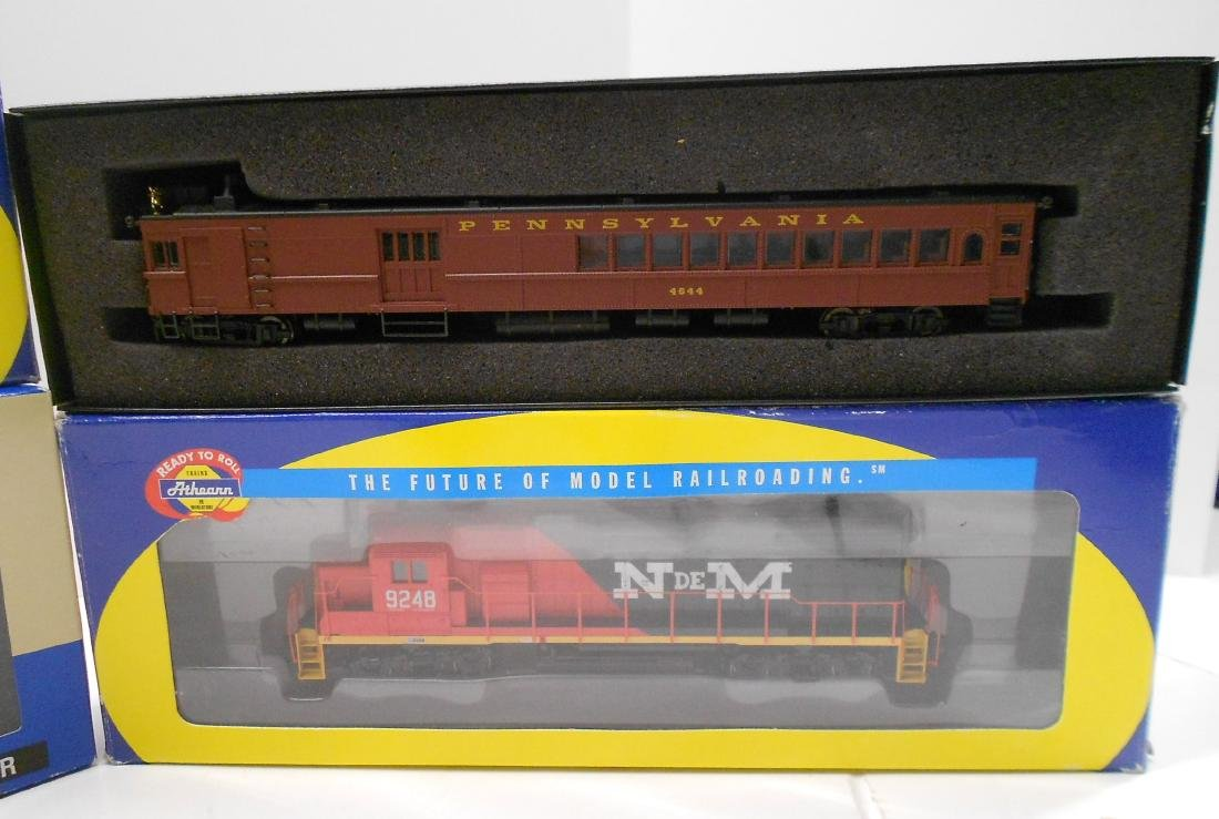 HO Athearn, Bachmann & Walthers Powered Units (4) - 3