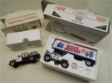 2 First Gear Trucks 1/2 Rack Stake + Pepsi 1:34