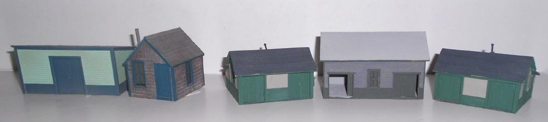 S & HO Scale NG Structures Scratch Built (5)