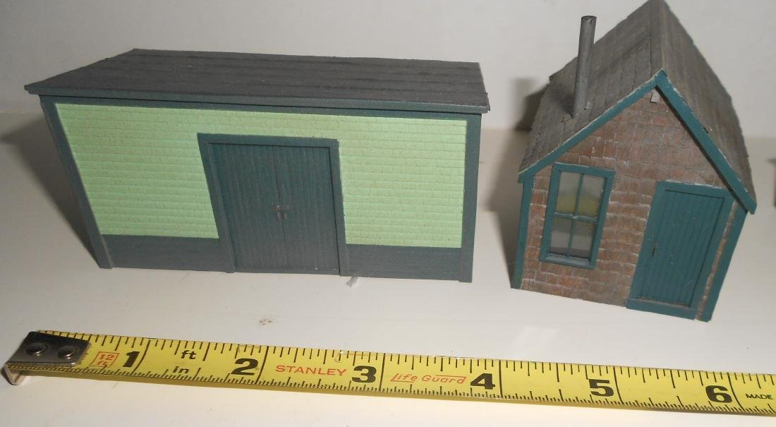 S & HO Scale NG Structures Scratch Built (5) - 2