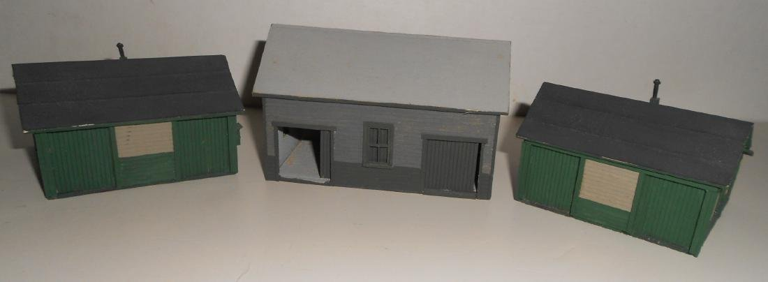 S & HO Scale NG Structures Scratch Built (5) - 5