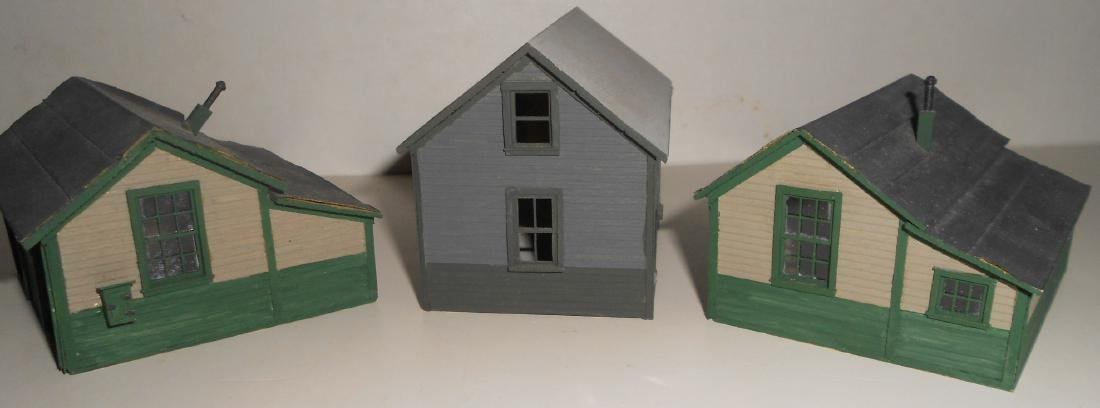 S & HO Scale NG Structures Scratch Built (5) - 6