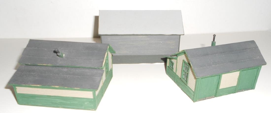 S & HO Scale NG Structures Scratch Built (5) - 7