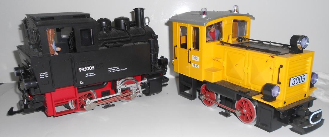 G Scale LGB 2 Locomotives 995005, 3005