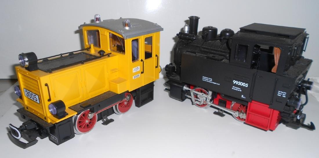 G Scale LGB 2 Locomotives 995005, 3005 - 2