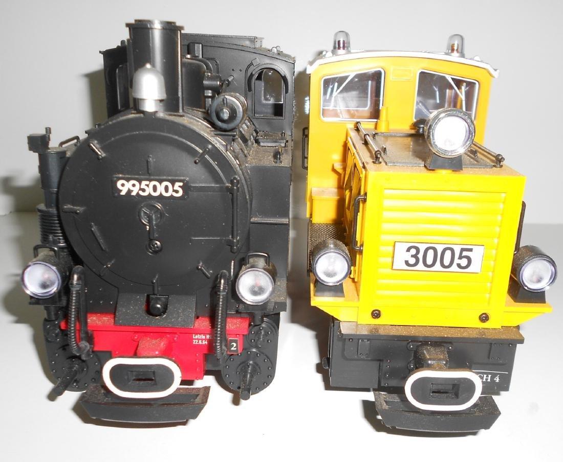 G Scale LGB 2 Locomotives 995005, 3005 - 5