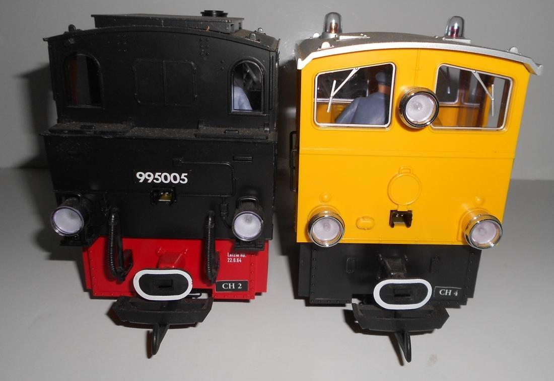 G Scale LGB 2 Locomotives 995005, 3005 - 6