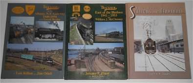 Train Books Trackside Albany NYC Depots