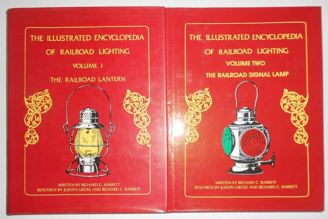 Railroad Lantern Reference Books Barrett (2)