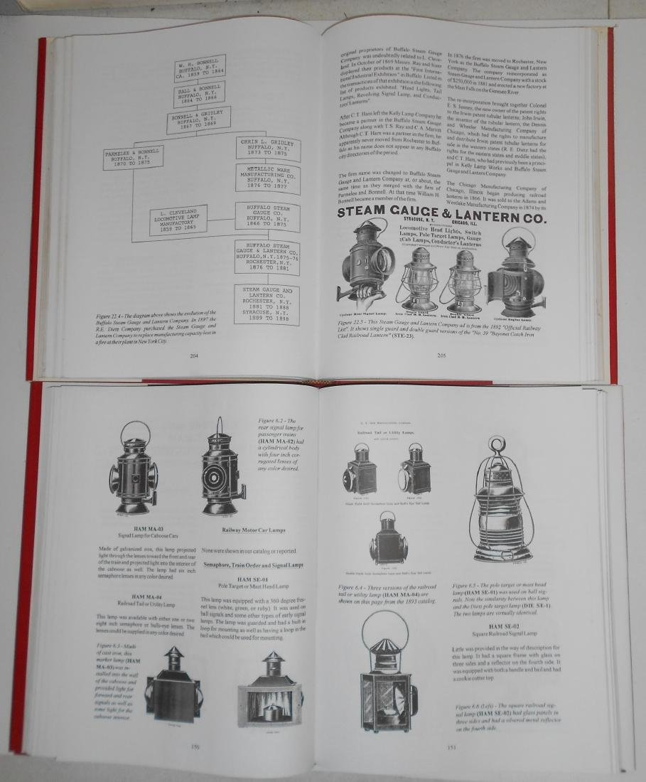 Railroad Lantern Reference Books Barrett (2) - 2