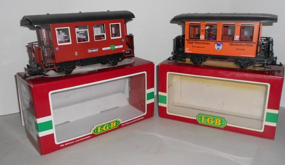 G Scale LGB Passenger Car & others: 33073 , box car in