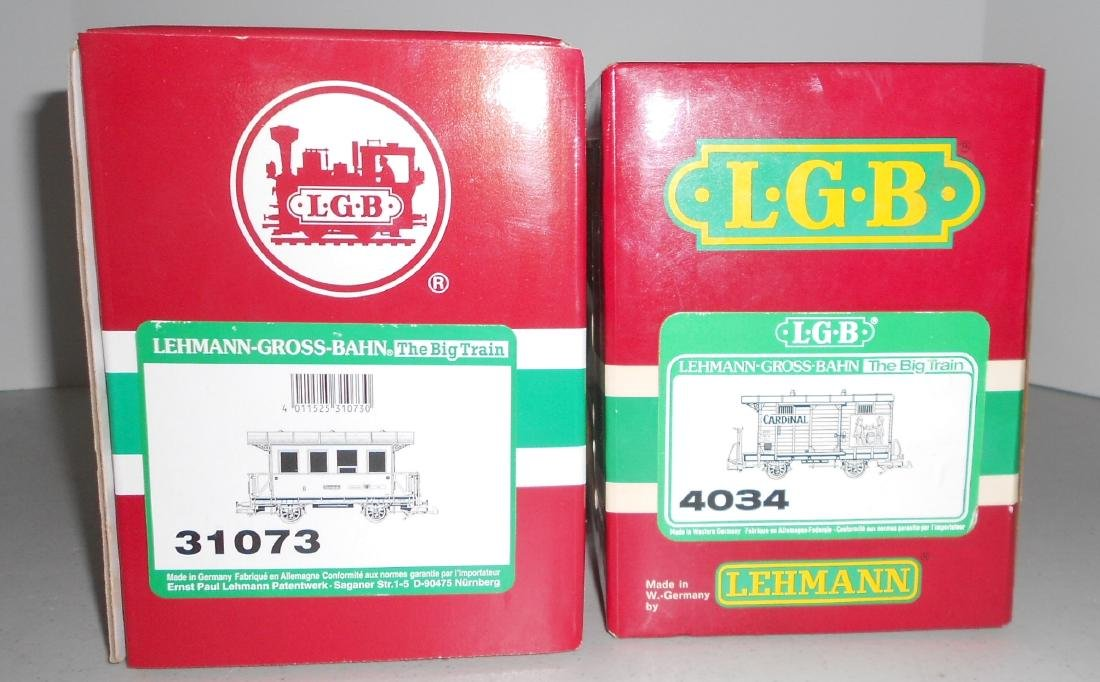 G Scale LGB Passenger Car & others: 33073 , box car in - 2
