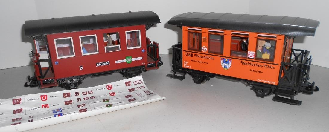 G Scale LGB Passenger Car & others: 33073 , box car in - 3