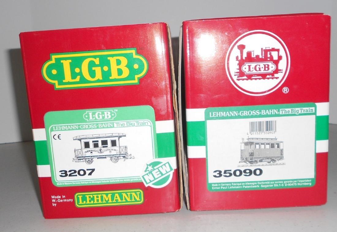 G Scale LGB Passenger Cars: 3207, 35090 - 2