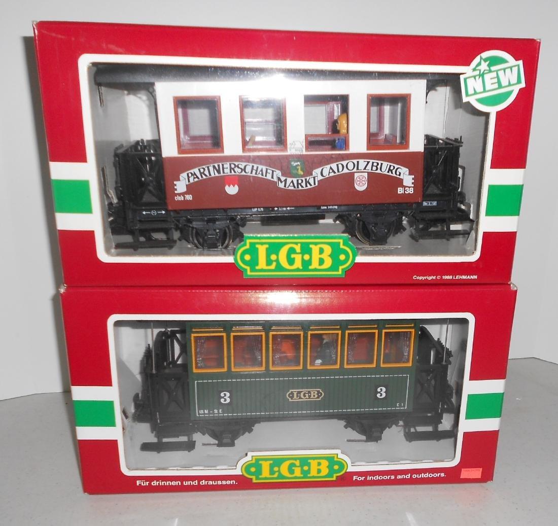 G Scale LGB Passenger Cars: 3207, 35090 - 3