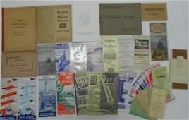 New England Travel Folders