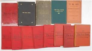 17 Saward Annual Coal Books 18751917