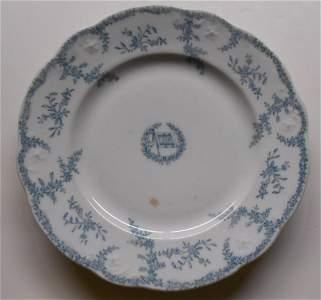 """Wabash Railroad """"Lafayette"""" pattern Plate"""