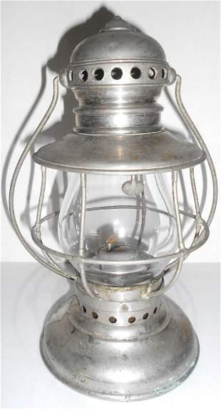 Conductor Lantern Nickel Plated A&W 1865