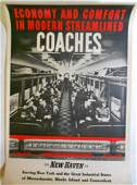 New Haven Railroad Coach Poster