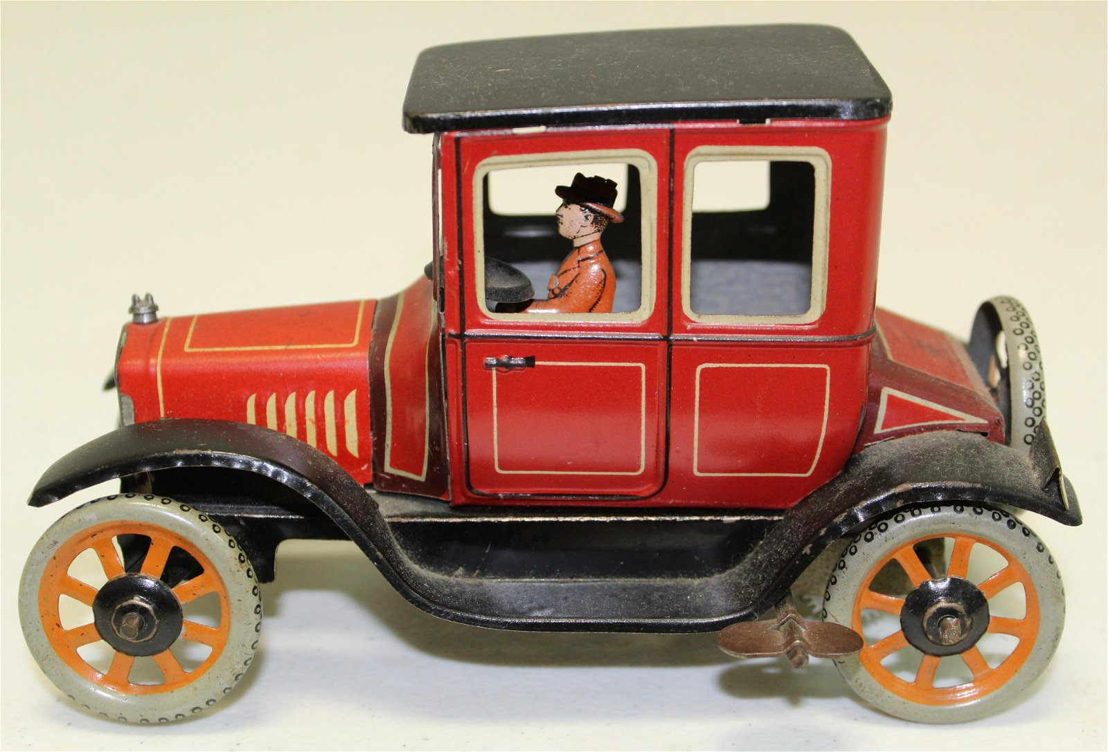 Bing tin wind up toy car